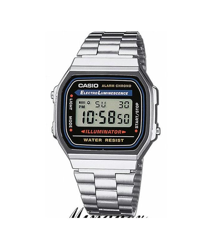 Reloj Casio-A168WA-1YES