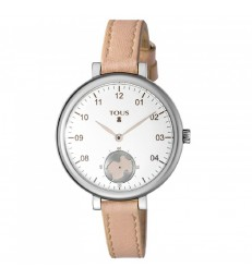 Reloj Tous Spin acero correa piel-600350435
