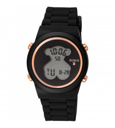 Reloj Tous digital D-Bear negro-700350320