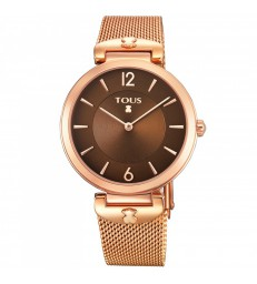 Reloj Tous S-Mesh acero rosado-700350290