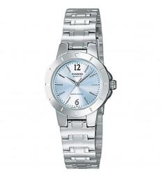 Reloj Casio sra armis esfera azul metal-LTP-1177PA-2AEF