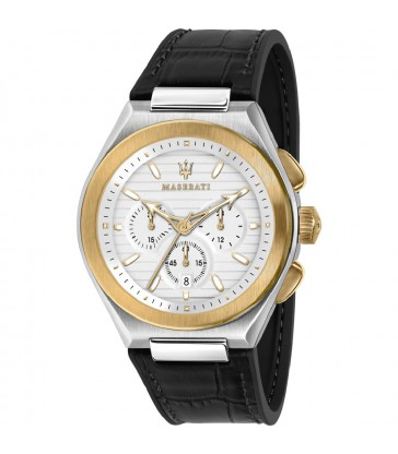 Reloj Maserati cab. bicolor crono correa-R8871639004