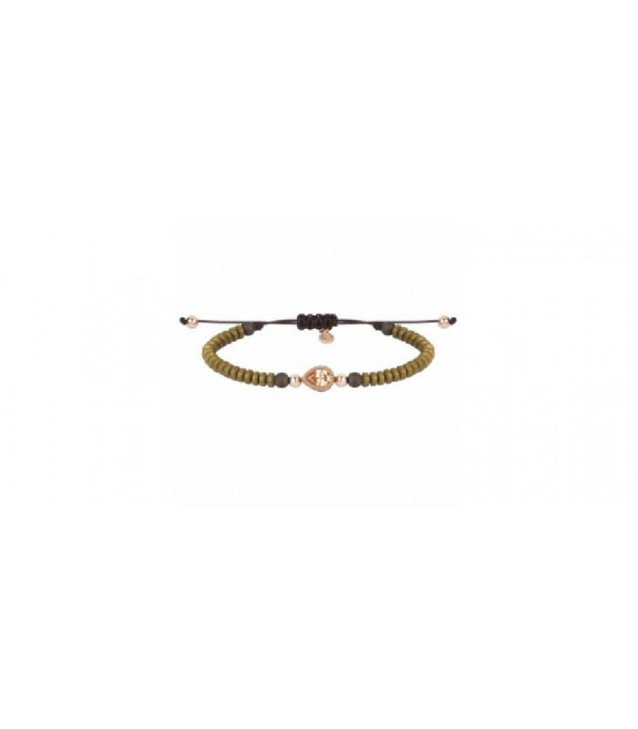 Pulsera Sunfield plata baño oro rosa cit-PU061971/2