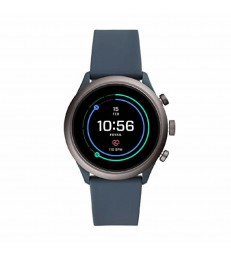Reloj smartwatch Fossil cab azul-FTW4021