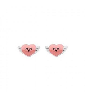 Pendientes MRWonderful corazón-WJ10306