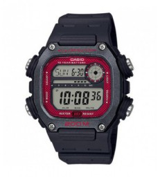 Reloj Casio wrist watch digital negro ro-DW-291H-1BVEF