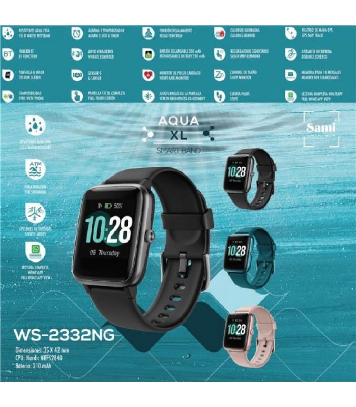 Reloj Sami Smartband Negro Unisex