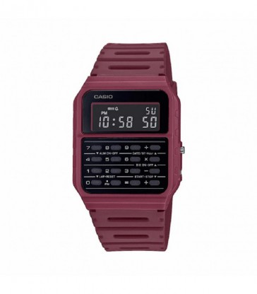 Reloj Casio digital calculadora granate-CA-53WF-4BEF