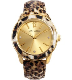 Reloj Mark Maddox sra dorado leopardo-MC3004-95