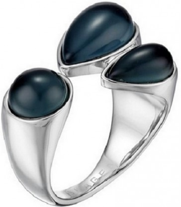 Anillo de acero Sea Glass-SKJ0771040505