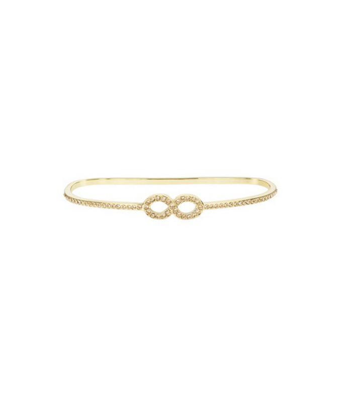Pulsera infinito dorada Slim Line lolaandgrace-5183022