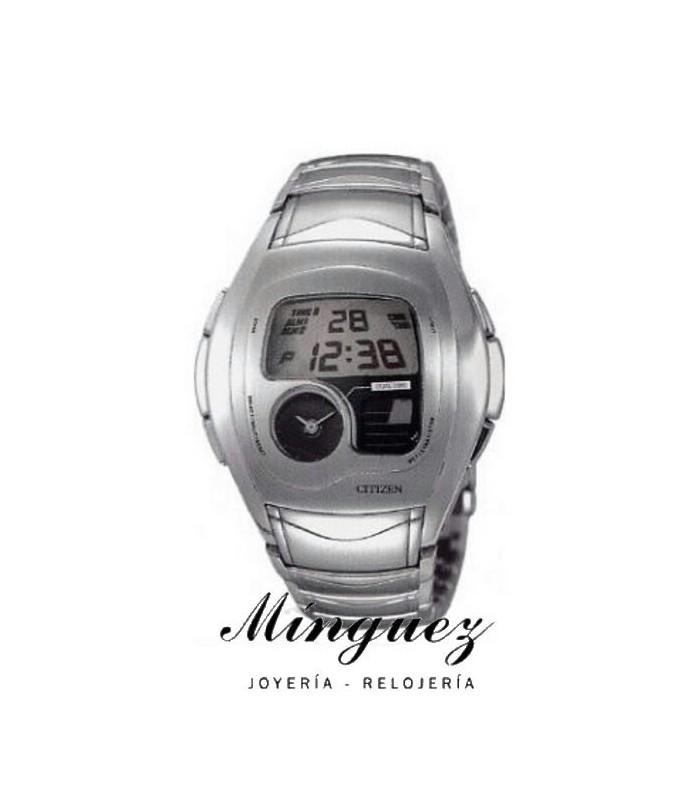 Reloj Citizen Anadigi Amys Acero-JG1070-59E
