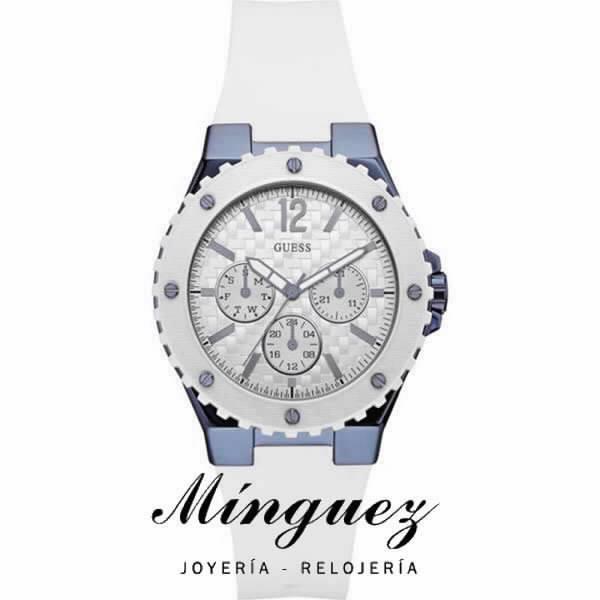 Mujer Para W0149l6 Para Reloj Blanco Reloj KJl1Fc