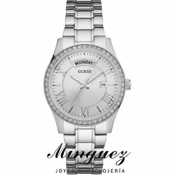 55a79f03ecdc Reloj Guess mujer acero-W0764L1