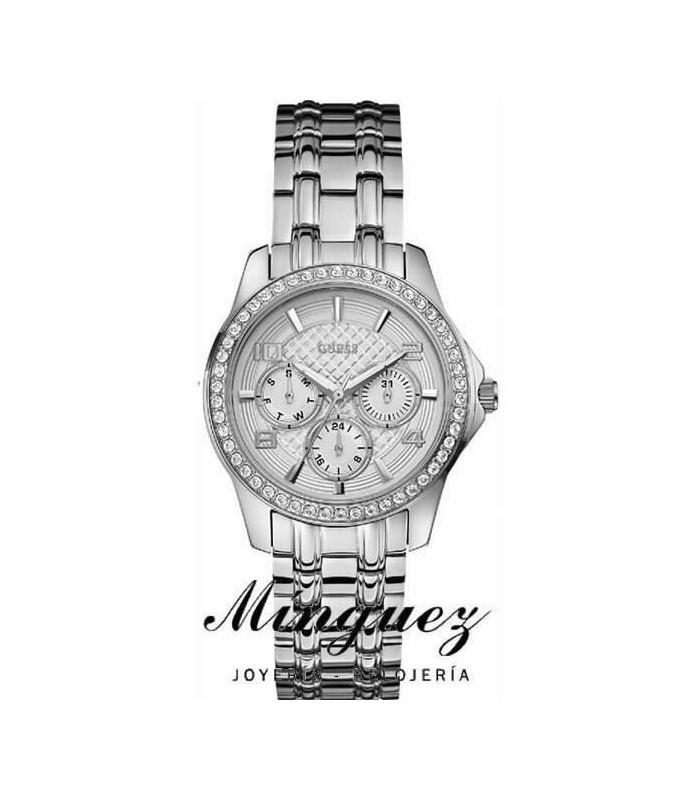Reloj señora acero Guess-W0403L1