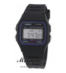 Reloj digital Casio -F-91W-1YER