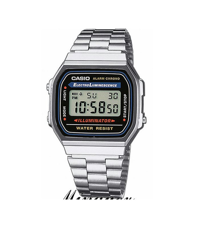 Reloj Casio-A168WA-1YES