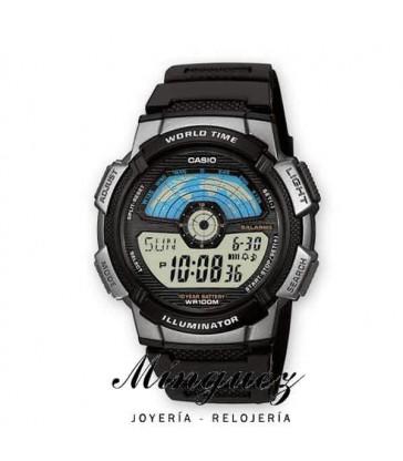 Reloj digital Casio-AE-1100W-1AVEF