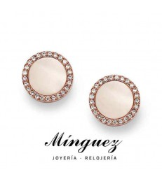 PENDIENTES FOSSIL ROSADOS-JF01715791