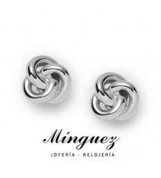 PENDIENTES FOSSSIL KNOT STUDS-JF01363040