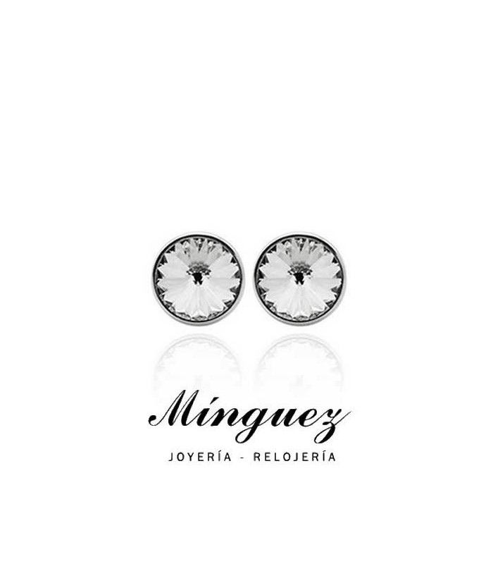 PENDIENTES VICTORIA CRUZ 8MM CRYSTAL-A2791-7T