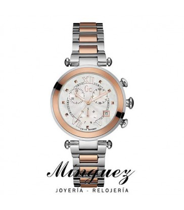 RELOJ MUJER BICOLOR GUESS COLLECTION-Y05002M1