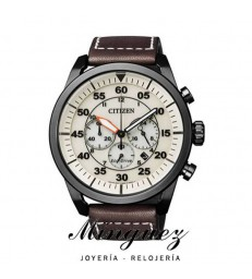 RELOJ CITIZEN MARRÓN ECO-DRIVE-CA4215-04W