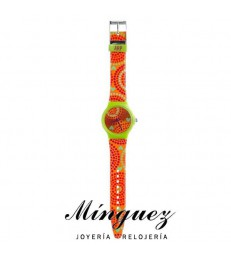 RELOJ AGATHA ORANGE-AGR174