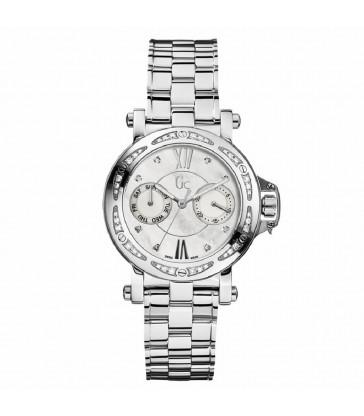 Reloj Guess Collection acero y diamantes-X74106L1S