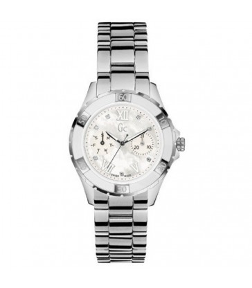 Reloj Guess Collection GC acero y diamantes-X75102L1S