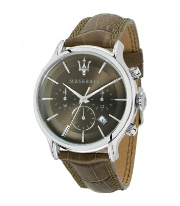 Reloj cab Maserati Epoca Brown 42mm-R8871618009