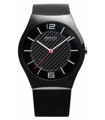 RELOJ BERING CERAMIC 39MM NEGRO-32039-449