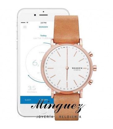 RELOJ SKAGEN CONNECTED ROSÉ-SKT1204