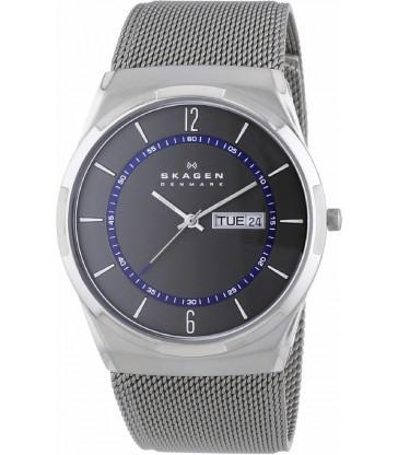 Reloj Skagen Melbye cab titanio milanesa acero-SKW6078