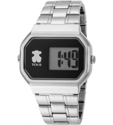 Reloj digital plata Tous d-bear-600350295