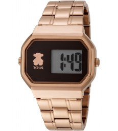 Reloj Tous digital D-Bear rosado-600350305