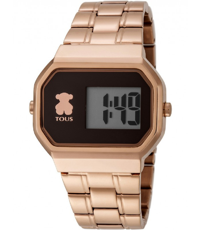 Reloj Tous digital D-Bear rosado-600350305