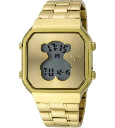 Reloj Tous S-Bear SQ dorado digital-600350285