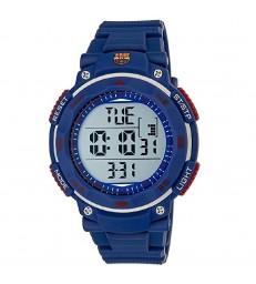 Reloj caballero Barça digital caucho azu-BA02602