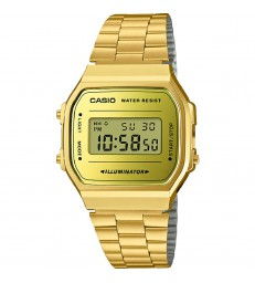 Reloj Casio retro dorado digital-A168WEGM-9EF