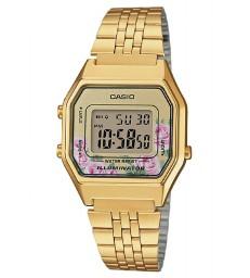 Reloj Casio dorado digital peq-LA680WEGA-4CEF