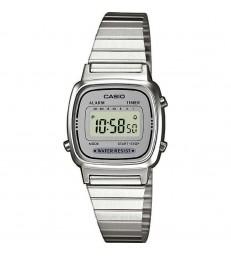 Reloj Casio digital gris acero-LA670WEA-7EF