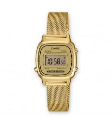 Reloj Casio digital dorado pequeño-LA670WEMY-9EF