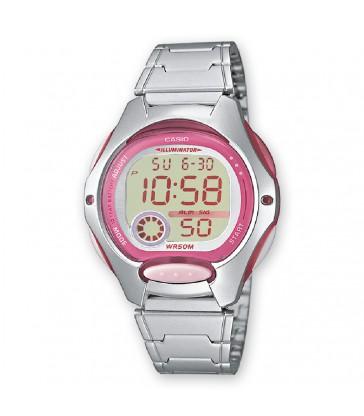 Reloj Casio sra digital rosa-LW-200D-4AVEF
