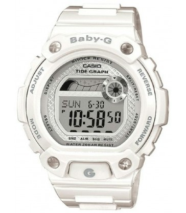 Reloj Casio Baby-G blanco digital-BLX-1007ER