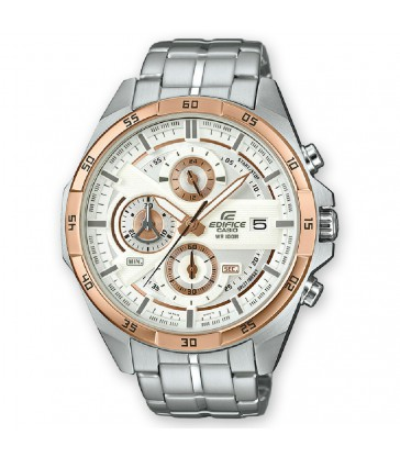 Reloj Edifice cab acero multifuncion-EFR-556DB-7AVUEF