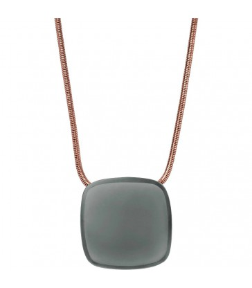 Collar Skagen Sea Glass acero rosa-SKJ0873791