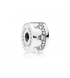 Clip Pandora Corona Brillante-797634CZ