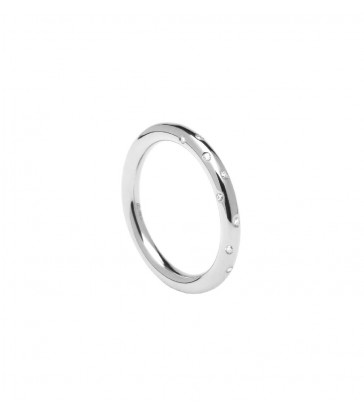 Anillo P D Paola Satellite Silver-AN02-107-14