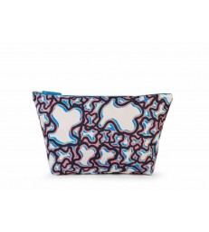 Bolsa m. k shock rever unique azul-995960285